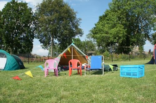 Pop-up-camping (juni 2019)